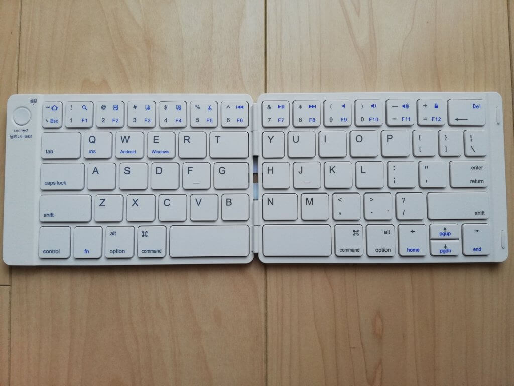 BT-ZP001のキーボード