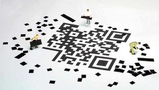QRコードのサンプル
