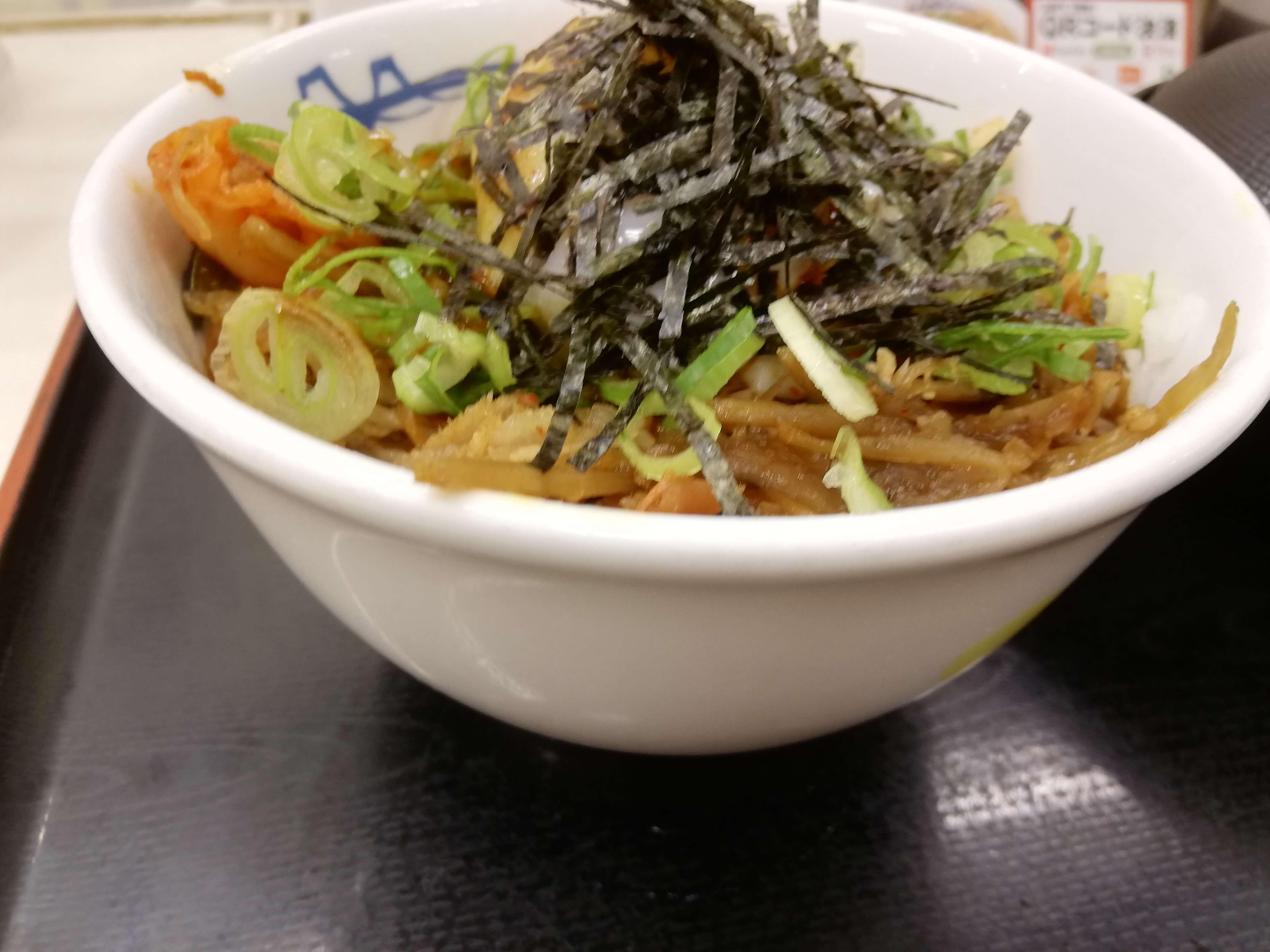 ビビン丼トップ画像